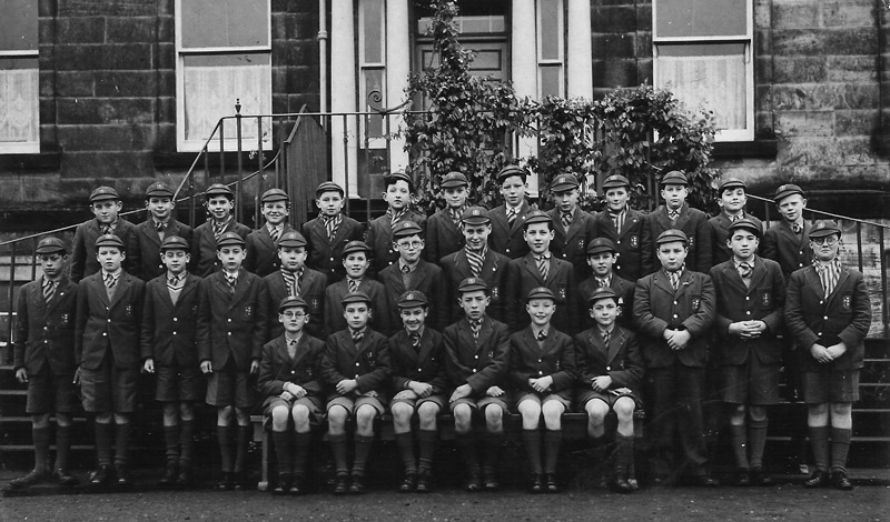 1stYear1954.jpg - Can you supply names?