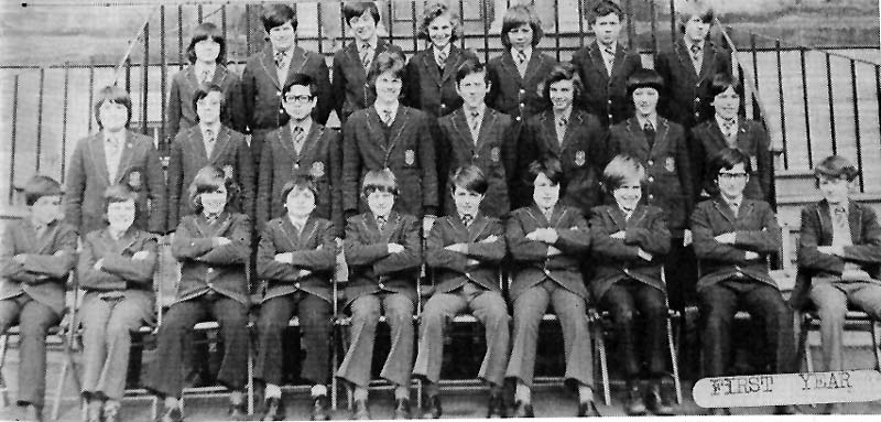 Class Photo First Year 1975.jpg - 1st year 1975