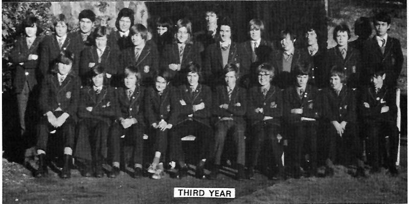 Class Photo Third Year 1974.jpg - 3rd year 1974