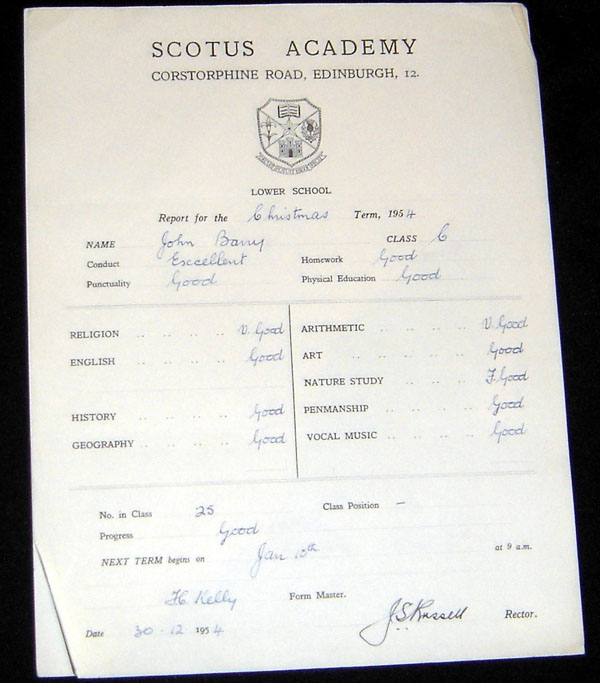 JB02.jpg - John Barry's report card from 1954.