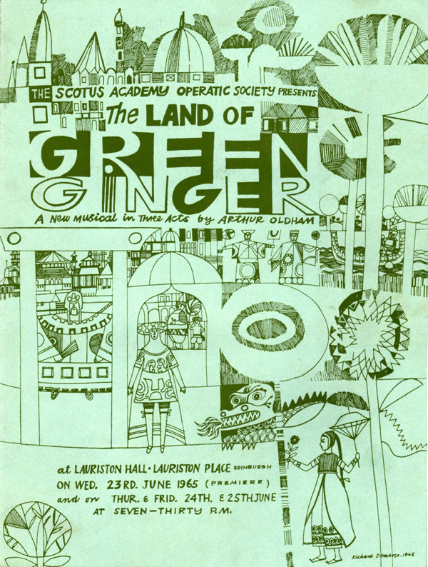 Land of Green Ginger Prog.jpg - Cover from the program of The Land of Green Ginger