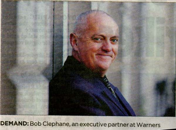 Bob Clephane.jpg - Bob Clephane in the papers.