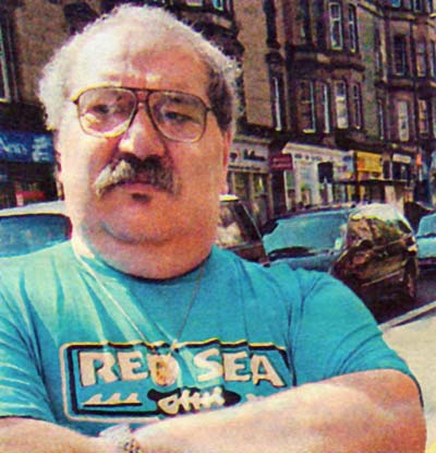 LORENZO PELOSI.jpg - Lorenzo Pelosi as seen in the Edinburgh Evening News, 2005.