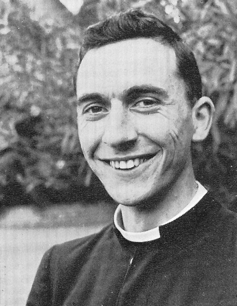 Rev Br Laidlaw.jpg - Rev Brother Bruce David Laidlaw was the first Academical to become a Christian Brother. He went on to teach in Australia.