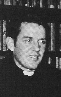Rev Fr McLaughlin.jpg - Rev Fr Henry McLaughlin, Ph.L., S.T.L. A former Scotus pupil, in 1972 he was appointed curate at St. Mary's Cathedral, Edinburgh.