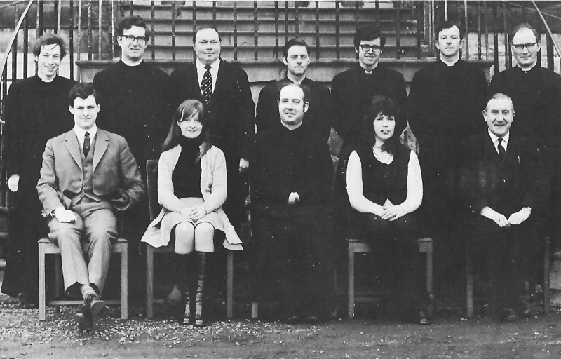 Staff 1972.jpg - The staff in 1972.
