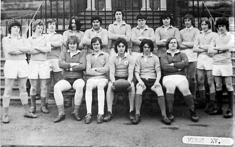 First XV 1975.jpg - Rugby Team, 1st XV in 1975.