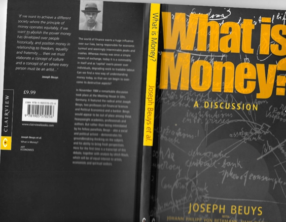 What is money book cover